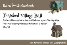Thatched village hall