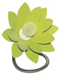 Lampe Flower #lampe #lamp #fleur #flower #vert #green #deco