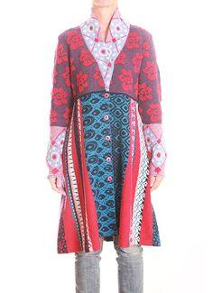 IVKO Long Jacket with Pleats Style 52528