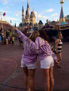 Taking on the Disney World with your sister. TSM.