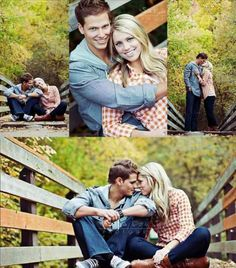 Engagement pictures...the bottom pic looking at each other