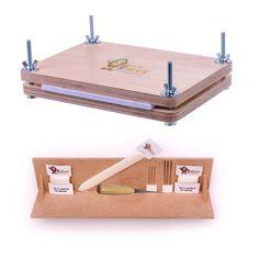 Encuadernación Super Deluxe Starter Kit A4 perforación cuna