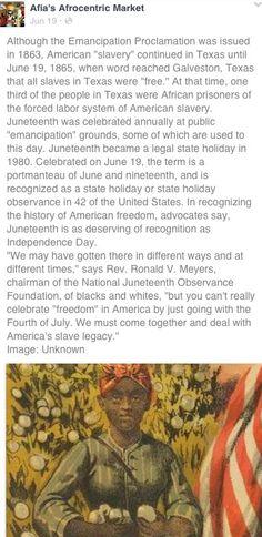History of Juneteenth
