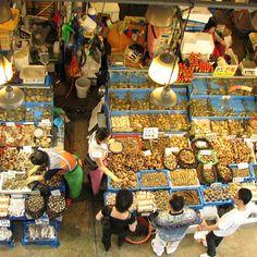 Seoul: Noryangjin Fish Market   Food & Wine
