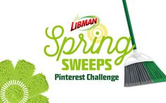 """Follow The Libman Company on Pinterest and re-pin sweepstakes-specific board. Create a """"Spring Cleaning Toolkit"""" using images of The Libman Company's products and spring cleaning tips from the Pinterest board and then enter your information on The Libman Company's Facebook page. Be sure to invite your friends to enter as well."""