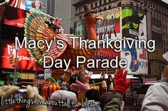 #Thanksgiving Day Parade in NYC <3