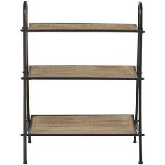 American Home Oswald Etagere Bookcase design by Safavieh (£97) ❤ liked on Polyvore featuring home, furniture, storage & shelves, bookcases, shelving, black shelf, black shelving, shelves bookcases, shelving furniture and black furniture