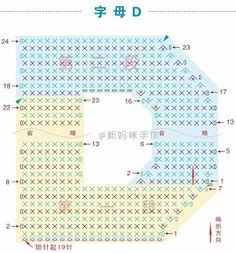 Crochet Alphabet Letters, Crochet Letters Pattern, Cross Stitch Alphabet, Letter Patterns, Crochet Patterns, Crochet Diagram, Crochet Chart, Crochet Stitches, Crochet Home
