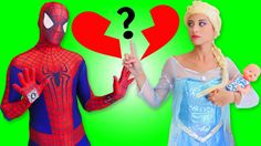 Người Nhện Và Joker w/ Nữ Hoàng Băng Giá Tập 22 SpiderMan vs Joker & Frozen Elsa