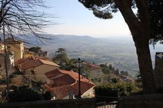 Beautiful view of Cortona