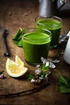 spinach fennel coconut maca smoothie
