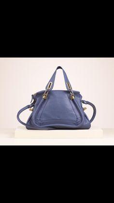 Chloe Paraty medium shoulder bag in scuba blue- Summer 2013
