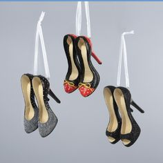 "2.25"" #HIGHHEELSHOE ORNAMENTS # A0649"