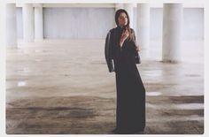 Lia makrigeni in chrisp Black Maxi, Personal Style, High Neck Dress, Dresses, Fashion, Turtleneck Dress, Vestidos, Moda, Fashion Styles