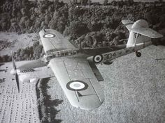 Royal Navy Fleet Air Arm Fairey Barracuda torpedo/dive bomber from RNAS Eglinton, County Londonderry, Northern Ireland. The Northern Irish north coast was a busy area with several air bases, with Fleet Air Arm, RAF, and US aircraft guarding the Northern Approaches, and ships en route, to and from mainland UK, and Northern Irish ports, on Atlantic convoys.