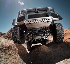 The Mercedes-Benz G 63 AMG 6x6 combines the best of three worlds.