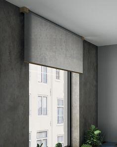 Designer roller blinds: elegant, contemporary, luxury roller blinds for home Contemporary Windows, Modern Blinds, Modern Windows, Contemporary Interior, Modern Roller Blinds, Luxury Home Decor, Luxury Homes, Blinds For Large Windows, Windows