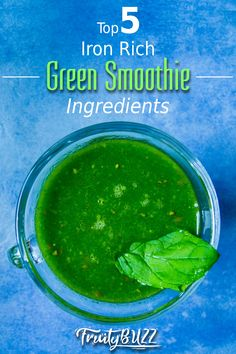 Here are some great ingredients you can use to make lovely green smoothies while ensuring that the iron content in your drink is adequate... #greensmoothies #greensmoothieingredients Smoothie Ingredients, Green Smoothies, Seaweed Salad, Iron, Content, Canning, Ethnic Recipes, How To Make, Irons