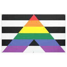 Straight Allies Pride Banner