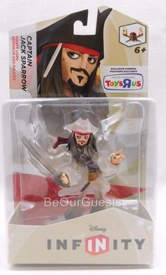 Disney Infinity Crystal Captain Jack Sparrow Pirate Toys R Us Exclusive New #Hasbro