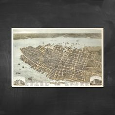 Share us for a 15% code for your order! Map of Charleston