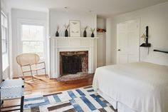 A Colonial House in Bellport with Uncommon Style from French Designer C. S. Valentin - Remodelista