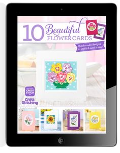 Check out this new App form the makers of The World of Cross Stitching. 'Best-ever Cross Stitch' is a hot, new fully-interactive app brand in the App Store, and this is our debut collection you'll love. '10 Beautiful Flower Cards' is just £1.49, for stunning card inspiration, pattern quality, and 'how tos' that have wow factor! http://bit.ly/1qxnCYg