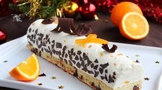 Bûche de Noël Orange & Chocolat