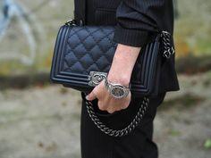 Chanel Boy Bag - sandra.levin fashion blog
