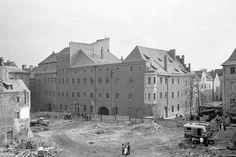 Abbruch des Pustet-Gebäudes, Blick auf die Schnupftabakfabrik (C) Stadt Regensburg