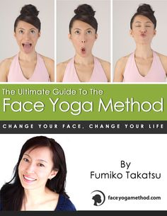 The Kindle cover for The Ultimate Guide To The Face Yoga Method