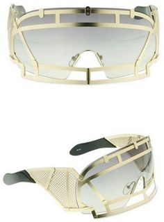 KTZ x Linda Farrow Face Shield Sunglasses