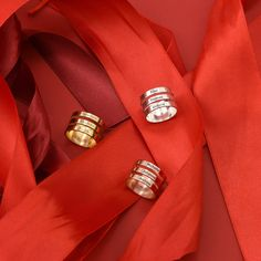 Cufflinks, Accessories, Fashion, Gold Plated Rings, Gold Paint, Chain, Silver, Christmas, Presents