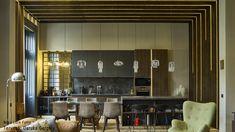 Nova Luce Fumo függesztékek Conference Room, Mirror, Nova, Table, Furniture, Home Decor, Decoration Home, Room Decor, Mirrors