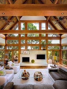 Windows....Creative Living Rooms Ideas   Home Adore