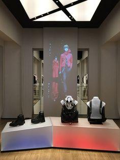 Emporio Armani - New Bond Street London Armani Store, Bond Street, Emporio Armani, Bespoke, Spa, Retail, London, Mirror, Taylormade