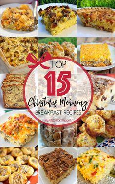 Top 15 Christmas Morning Breakfast RecipesReally nice recipes.  Blog: Alles rund um die Themen Genuss & Geschmack  Kochen Backen Braten Vorspeisen Hauptgerichte und Desserts #hashtag