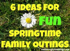 6 Ideas for Fun Springtime Family Outings that make for more than just one #YesMemory