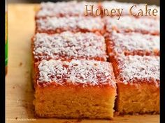 Eggless honey cake recipe (Indian bakery style) - Raks Kitchen