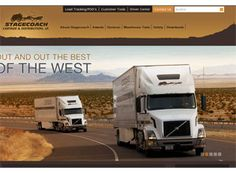 The old west look gives this transportation website a neat feel. The design is very professional and completely user friendly.