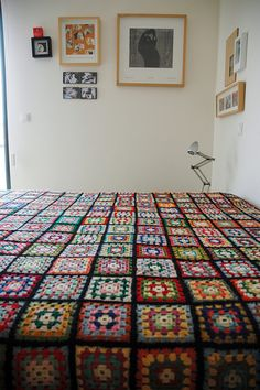 Lovely Retro Crochet Blanket