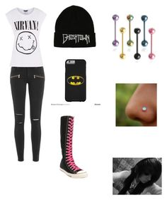 """""""style 6"""" by schooldiva7 on Polyvore featuring Paige Denim and Converse"""