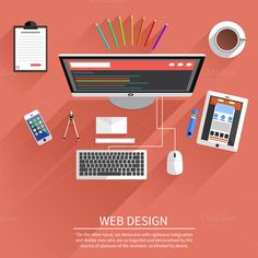 Web Design by robuart on Creative Market