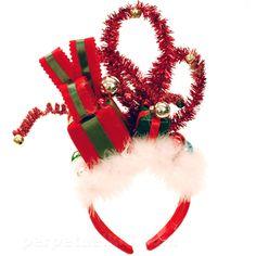 CHRISTMAS HEADBAND - PRESENTS Cindy Lou Who??