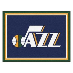 Dress up your family room or mancave with the Utah Jazz 8x10 Plush Area Rug. Highlighting the team logo, this high quality area rug is soft under foot and pleasing to the eye. The 100% nylon face area