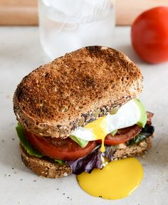 Avocado BLT's with Spicy Mayo and Fried Eggs - oh my word!!!  Mmmmmmmm