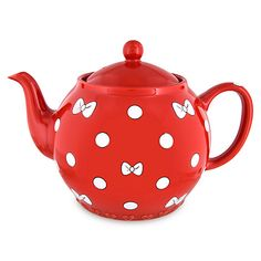 Your WDW Store - Disney Teapot - Minnie Mouse Bow - Red