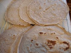 Gluten Free SCD and Veggie: Gluten Free Buckwheat Wraps GF