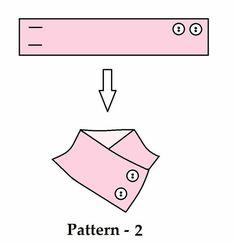 Sewing Pattern: Neckwarmer