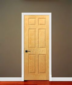"6 Panel White Birch 6'-8"" (80"") 